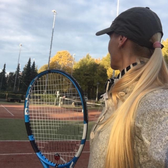Winter Outdoor tennis
